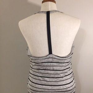 Athleta halter maxi dress w/built in bra